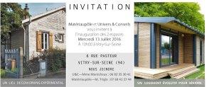 Invitation - Univers&Cconseils - Materiaupole