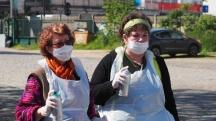Les Mamies créatives de Boissy-Saint-Léger en balade à Vitry-sur-Seine