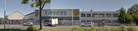Façade Cavers à Choisy-le-Roi
